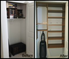 My Cleaning Closet Overhaul! | Cleaning Closet, Organizations And Laundry