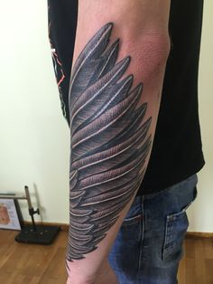 wing sleeve tattoo