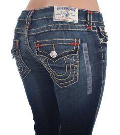 True Religion Womens Low Rise Skinny Jeans Size 28 Super T with Flaps NWT $352 #TrueReligion #SlimSkinny