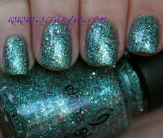Scrangie: China Glaze Prismatic Chroma Glitters Collection Spring 2012 Swatches and Review