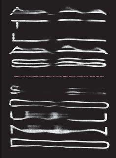 Atlas Sound Poster by Jason Munn, 2010,