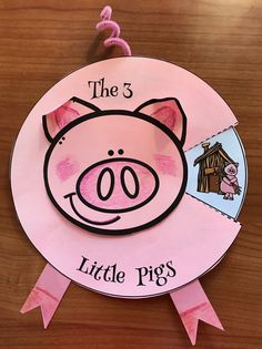 """3 little pigs fairy tale activities, 3 little pigs crafts, retelling a story activities, sequencing a story activities activities Activities & Crafts for """"The 3 Little Pigs"""" Fairy Tale Pig Crafts, Book Crafts, Preschool Activities, Animal Activities, 3 Little Pigs Activities, Fairy Tale Activities, Nursery Rhyme Crafts, Nursery Rhymes Preschool, Fairy Tale Crafts"""