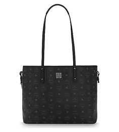 MCM Visetos Coated Canvas Tote. #mcm #bags #shoulder bags #hand bags #canvas #tote #