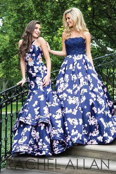 Rachel Allen 7082 and 7111 Prom dresses #ipaprom
