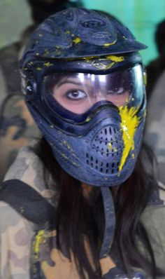 To ensure as little pain as possible, but just as much fun, we turn down the paintball markers for under 13's