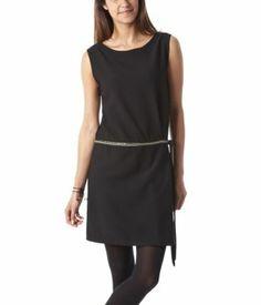 Sleeveless dress black - Promod