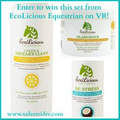 Review: EcoLicious Equestrian Grooming Products   Velvet Rider