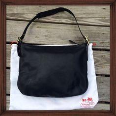 Spotted while shopping on Poshmark: Coach Black Leather Vintage Hobo; NWOT! #poshmark #fashion #shopping #style #Coach #Handbags