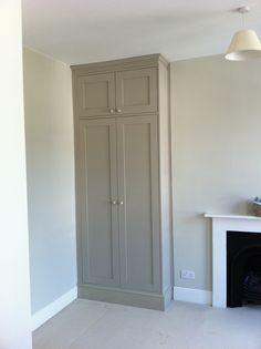 Decor White 3 Door Wardrobe Ed Doors Painted Built In