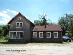 Schoolhouse @ Whitesbog Village, Browns Mills, NJ. Constructed in 1908.