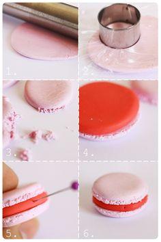 tutorial : macaron gourmand en fimo | Dollicious.fr