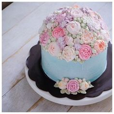 Beautiful buttercream flower cake ivenoven Cakes and Cookies