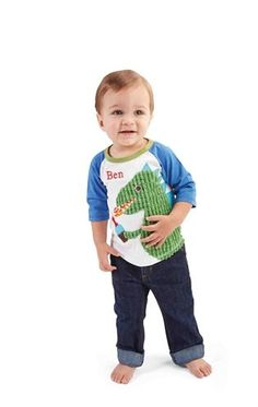 19569fd9267f Finally cute stuff for your sons first birthday!! Mud Pie Dino Birthday  Shirt Dinosaur