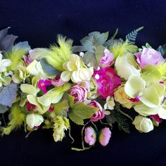 Girlanda kwiatowa sztuczna