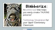 If you're looking for a way to incorporate technology into your elementary classroom in a way that is fun, meaningful, and easy, then Blabberize might be for you! Blabberize is a free online tool that Technology Lessons, Teaching Technology, Technology Integration, Educational Technology, Teaching Tools, Instructional Technology, Teaching Biology, Medical Technology, Teaching Kindergarten
