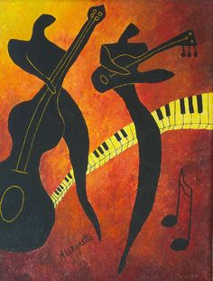 jazz paintings new orleans - Google Search