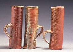 Tea Duong (Oregon Potters) Tags: cups opa handbuilt woodfired ceramicshowcase oregonpotters