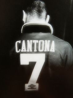 "Eric ""The King"" Cantona. Neymar, Messi, Football Icon, Sport Football, Good Soccer Players, Football Players, Eric Cantona, Premier League Champions, Soccer News"
