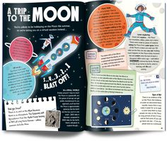Whizz Pop Bang – an awesome kids science magazine – Design is art Cool Science Fair Projects, Science For Kids, Book Design Layout, Print Layout, Book Layouts, Magazine Design, Kids Graphic Design, Typo Design, Identity Design
