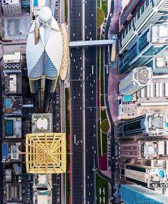 Dubai Architecture, Birds Eye View, United Arab Emirates, Burj Khalifa, Abu Dhabi, Aerial View, Times Square, Beautiful Places, London