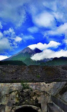 Gunung Merapi  Merapi Mountain Yogjakarta, Indonesia