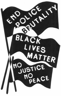 """black lives matter poster 