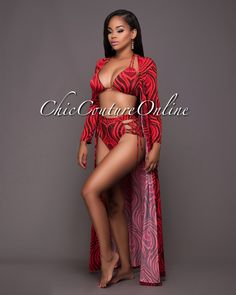 Chic Couture Online - Heartbreaker Red Black Print Lace-Up Sides Padded Bikini Cover-up/Set.(http://www.chiccoutureonline.com/heartbreaker-red-black-print-lace-up-sides-padded-bikini-cover-up-set/)