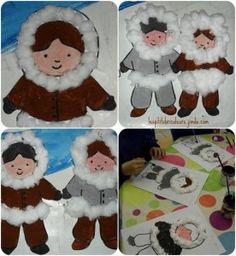Winter season craft idea for preschool kids Winter Crafts For Kids, Winter Kids, Winter Art, Winter Theme, Art For Kids, Winter Activities, Activities For Kids, Projects For Kids, Art Projects