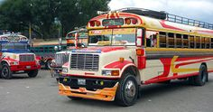 The Magical Chicken Buses in Guatemala