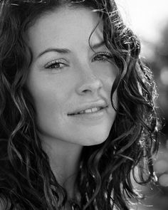 Evangeline Lilly (Kate...) She was wonderful on the show LOST