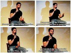 Matt Cohen about Jensen Ackles.