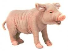 A most remarkable piece, ozzing with detail and charm. Meet Hansa's standing Pig.