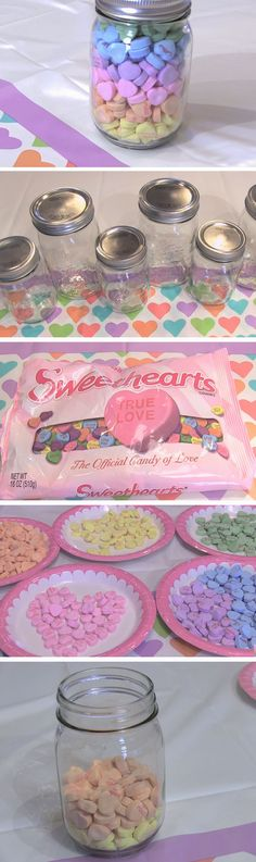 Rainbow Sweethearts | DIY Valentines Mason Jar Crafts for Him
