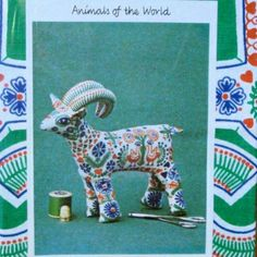 Soft toy goat kit  #goatvet made this for her children so have been around for many years