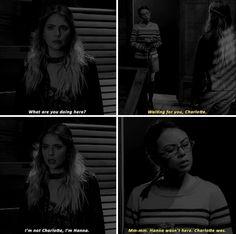 """#PLL 7x19 """"Farewell My Lovely"""" - Hanna and Mona"""