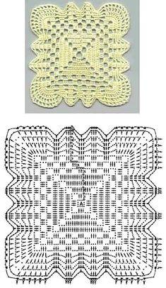 Моя подборка схем вязания узоров и мотивов крючком | Мой Милый Дом – идеи рукоделия, вязание, декорирование интерьеров