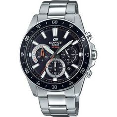 Shop for Casio Men's 'Edifice' Chronograph Stainless Steel Watch. Get free delivery On EVERYTHING* Overstock - Your Online Watches Store! Black Stainless Steel, Stainless Steel Watch, Stainless Steel Bracelet, Casio G-shock, Casio Watch, Relogio Casio Edifice, Sport Watches, Watches For Men, Men's Watches
