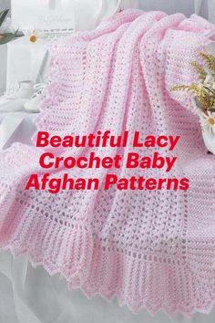 Beautiful Lacy Crochet Baby Afghan Patterns crochet patterns for baby gifts #crochet Baby Afghan Crochet Patterns, Baby Blanket Crochet, Baby Patterns, Crochet Baby, Knitting Patterns, Baby Afghans, Baby Gifts, New Baby Products, Blog
