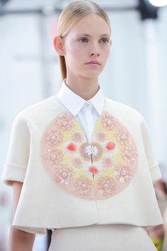 Delpozo at New York Fashion Week Spring 2015.