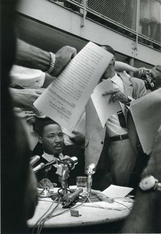 Ernst Haas: Martin Luther King, 1963.