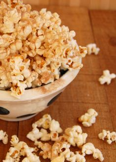 Kettle corn gets an everyday makeover with less salt and sugar than the stuff at the county fair. It's quick and easy enough for an everyday snack too! From It's Not Easy Eating Green.
