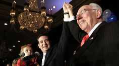 """Ted Cruz's Dad Says It's """"Appalling"""" to Have a Gay Mayor (Houston). Who gives a shit what Ted Cruz's crackpot father thinks? The dirty old pervert is a mirror image of his crackpot son."""
