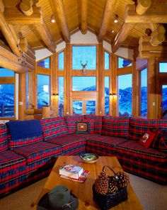 Rocky Mountain Log Homes Selection of Log Accessories and Components