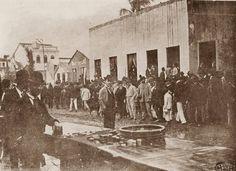 1890 - Tradicional festa no bairro de Penha de França, zona leste da cidade.