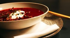 Rødbedesuppe // Beetroot soup