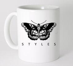 Harry Styles Butterfly Tattoo Mug 11 oz, Coffee Mug, Tea Mug