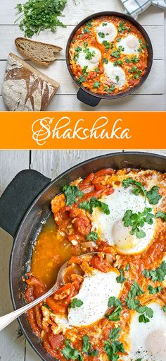 Shakshuka (Schakschuka) Israeli Delicacy Madame Cuisine If you Fish Recipes, Meat Recipes, Asian Recipes, Dinner Recipes, Cookie Recipes, Healthy Recipes, Ethnic Recipes, Fish Varieties, How To Cook Fish