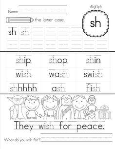 Thumbnail of Reading Readiness Worksheet 1. TONS of handwriting ...