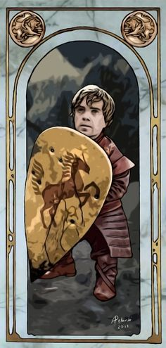 Tyrion Lannister by =AlessiaPelonzi on deviantART
