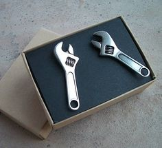 Wrench Cufflinks